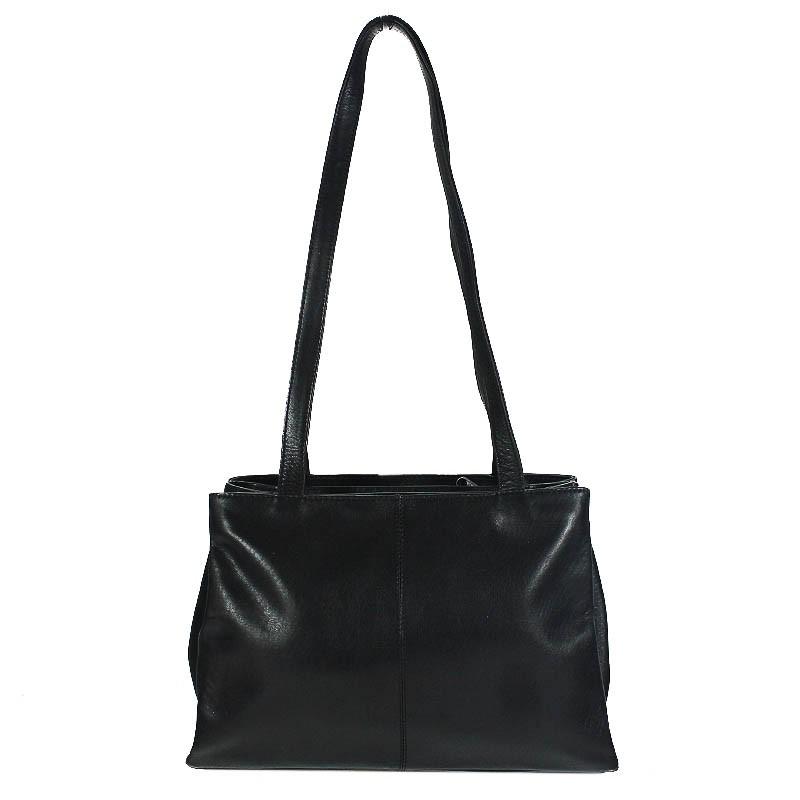diamond line kleine damen tasche schultertasche handtasche rind leder schwarz ebay. Black Bedroom Furniture Sets. Home Design Ideas