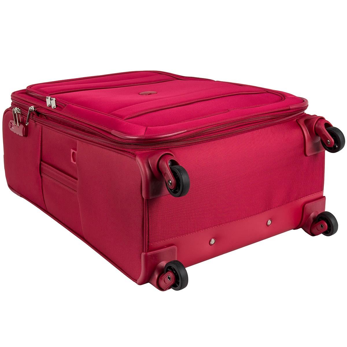 delsey indiscrete 4 rollen koffer trolley weichgep ck 78 cm. Black Bedroom Furniture Sets. Home Design Ideas