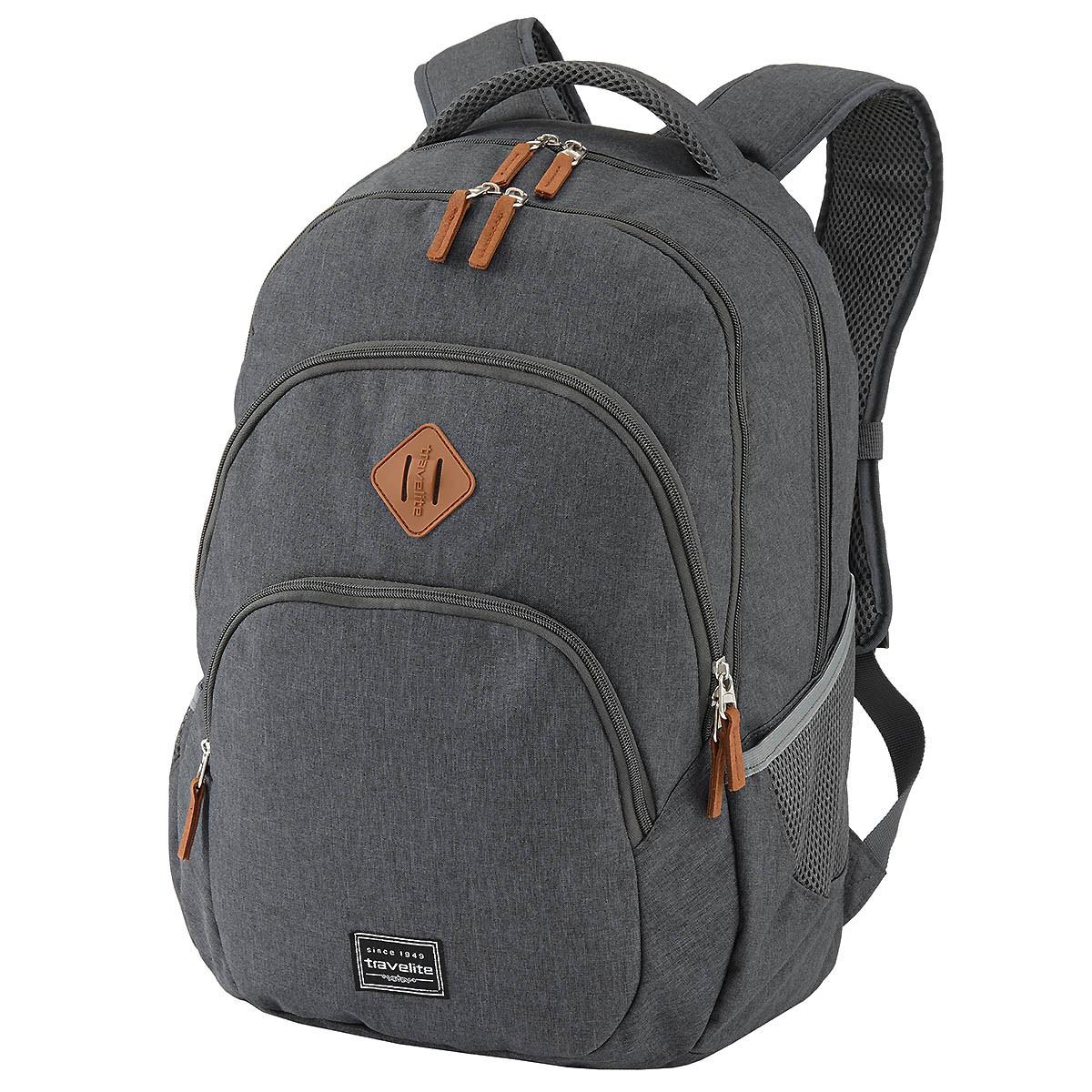 travelite rucksack mit laptopfach schulrucksack daypack 96308. Black Bedroom Furniture Sets. Home Design Ideas