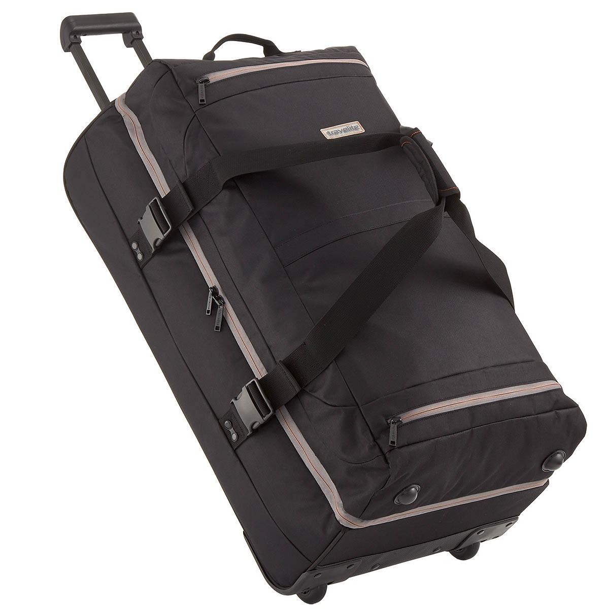 travelite basics xxl doppeldeckertrolley reisetasche mit rollen reisetasche 94l ebay. Black Bedroom Furniture Sets. Home Design Ideas