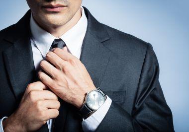 Anzug Uhr